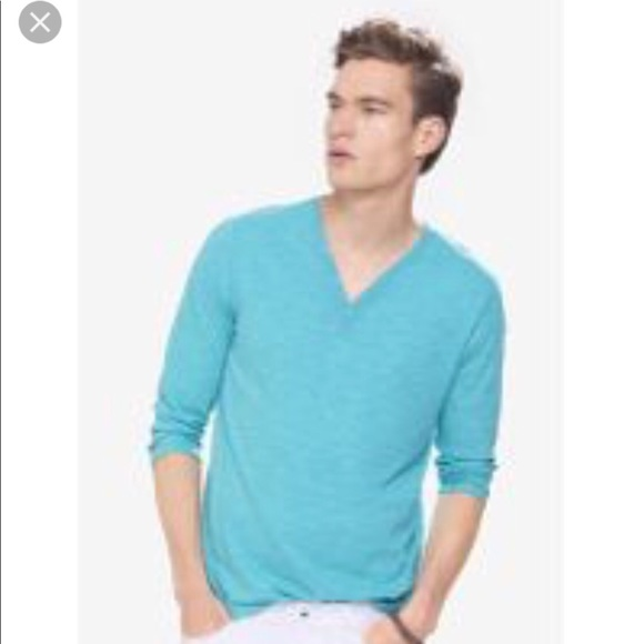 Express Other - Express 3/4 Sleeve Henley (Worn once!)
